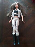 Beautiful Brunette Brown Eyed Barbie Doll 1999