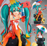 Hatsune Miku 2nd generation Hatsune Racing 2016ver 1/8 Anime Figure IN BOX 23CM