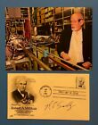 Richard E Smalley (Nobel Prize Chemistry 1996 ) Signed Robert A Millikan FDC