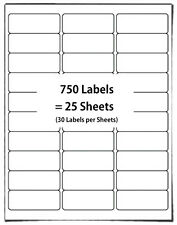 25 x Self Adhesive Amazon FBA Bar Code Label Shipping Sticker Mailing SKU Labels
