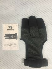 Bear Paw Black Archery Shooting Glove, Medium
