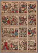 imagerie NOUVELLE VAGNé HISTOIRE de FRANCE PL  10  28x39cm