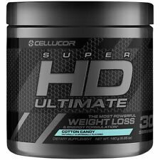 Cellucor Super HD Ultimate Weight Loss & Energy Formula Cotton Candy 30 Serving