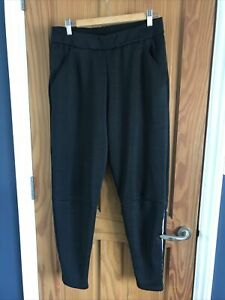 Mens Black Adidas Tracksuit Bottoms Size Medium