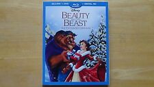 BEAUTY AND THE BEAST ENCHANTED CHRISTMAS Disney Blu-Ray DVD HD Excl. NEW SEALED
