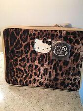 HELLO KITTY Leopard Print Laptop Case