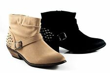 Therapy Synthetic Ankle Boots for Women