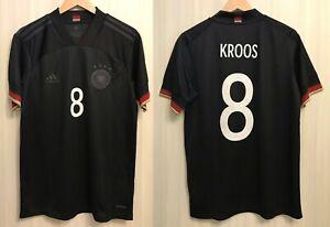 5+/5 Deutschland #8 Kroos 2020/2021 away Size M Germany shirt jersey trikot kit