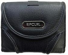 Rip Curl TEX MID RFID LEATHER WALLET Womens Wallet Purse New - LWLAW1 Black
