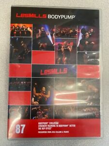 Les Mills BODYPUMP 87 DVD, CD, Notes body pump