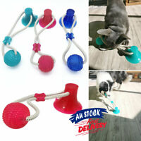 Tug Toys Pet Molar Pet  Chewing Teeth Cleaner Bite Multifunction Suction Ball