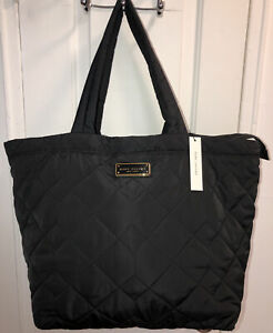 NWT $270 Marc Jacobs Quilted Nylon Extra Large Tote Zip Bag M0016678-001
