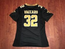 NEW ORLEANS SAINTS KENNY VACCARO JERSEY NIKE ON FIELD NFL LARGE L WOMENS    YOUTH  82b5345b6
