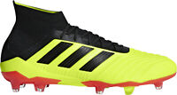 adidas Predator 18.1 Firm Ground Mens Football Boots - Yellow