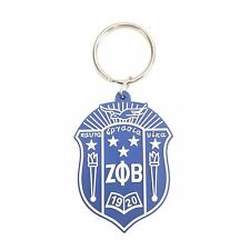 G840 Zeta Phi Beta PVC Shield Keychain