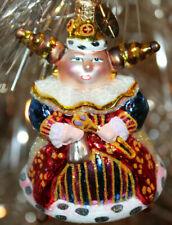 New ListingChristopher Radko Glass Christmas Ornament ~ Royal Rolies Queen Gem ~