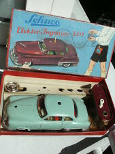 1950 RAR VINTAGE DIE CAST METAL CAR MODEL TOLE TIN  SCHUCO Ingenico 5311 1/36