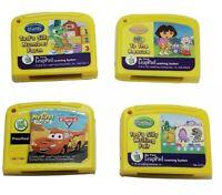 Leap Frog Learning Game Pixar Cars Disney Tad's Silly Dora Explorer lot