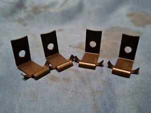 "JAGUAR DAIMLER 7"" HEADLAMP RIM CLIPS FITS XJ6 XJ12 DS420 MARK 10 420 C18179 X 4"