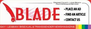 BLADE Magazine, Orange County & Long Beach, RuPaul, Drag, GAY, Lesbian LGBT,1995