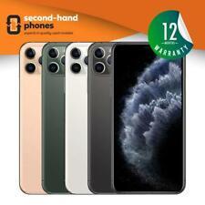 Apple iPhone 11 Pro Max (2019) 64/256/512GB Unlocked Grey/Gold/Silver & Green