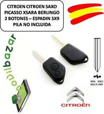 KEY HOUSING CITROEN SX9 C1 C2 C3 C4 XSARA SAXO PICASSO - COMMAND DOS BUTTONS