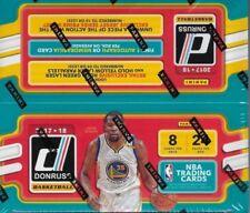 2017-18 Donruss Basketball Sealed Retail Box 24 Packs 8 Cards 1 Auto / Jersey