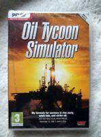 73447 - Oil Tycoon Simulator [NEW / SEALED] - PC (2013) Windows XP