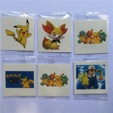 10 X POKEMON , PIKACHU Temporary Tattoo Birthday  Party Bag filler , UK Seller,