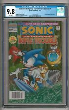 Sonic the Hedgehog Triple Trouble Special #1 (1995) Cgc 9.8 Wp Only 1 in Census