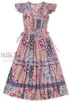 Womens Matilda Jane Camp MJC The Wildlife Maxi Dress Size XS X Small NWT