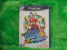 gamecube SUPER MARIO SUNSHINE Nintendo PAL ENGLISH UK Version