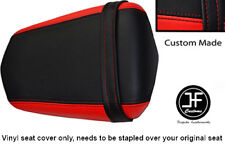 RED AND BLACK VINYL CUSTOM FITS YAMAHA 600 YZF R6 REAR SEAT COVER ONLY 03-05