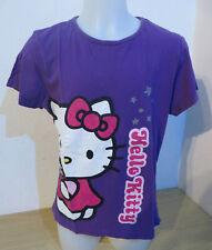 HELLO KITTY ° chices T-Shirt Gr. 158 164 lila Mädchen Mode Sommer-Kleidung Shirt