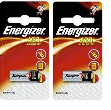 2 Piles A23 ENERGIZER LR23A LRV08 GP23A M21 23A 12Volt