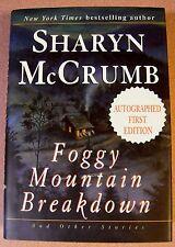 Foggy Mountain Breakdown by Sharyn McCrumb Signed 1st/1st (1997, Hardcover)