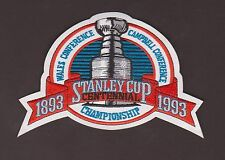 Montreal Canadians Vs. LA Kings 1993 Stanley Cup Jersey Patch English Version