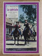 LO SPIETATO fotobusta poster Guy Madison Western Texas The Hard Man 1959 L55