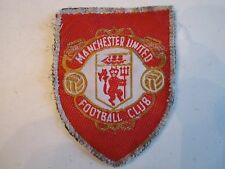 "VINTAGE MANCHESTER UNITED FOOTBALL CLUB PATCH - 2 1/2"" X 2"" -  BN-5"