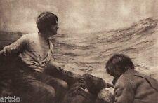 """Héliogravure - 1924 - """"Lest we forget"""" - F.J.Mortimer"""