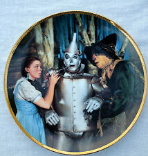 Wizard of Oz The Tin Man Speaks 50th Anniversary Plate Hamilton Collection
