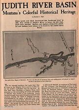 Judith River Basin - A Montana Treasure + Genealogy