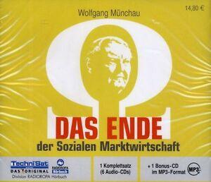 HÖRBUCH-CD-BOX - Das Ende der Sozialen Marktwirtschaft - Wolfgang Münchau