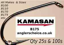 Kamasan trout Hooks for Bait And Fly tying 25pk or 100pk all types B100,B175 etc