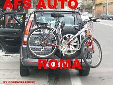 PORTABICI POSTERIORE X 3 BICI HONDA CRV CR-V CR V ANNO 2001 X BICI UOMO DONNA