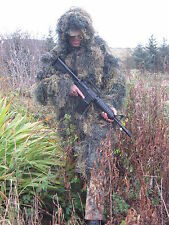 Gillie Parka In Woodland Camouflage M / L  New