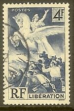 """FRANCE TIMBRE STAMP N°669 """" LIBERATION 4F """" OBLITERE TB"""