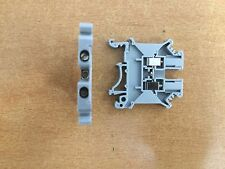 Din Rail Terminals Universal class Terminal blocks ALL SIZES IN GREY AND EARTH