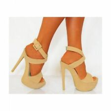 Koi Couture Evening & Party Strappy, Ankle Straps Heels for Women