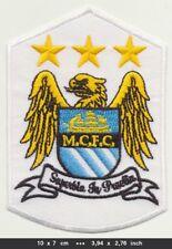 Manchester City Maci Aufnäher Aufbügler Patches Fussball England